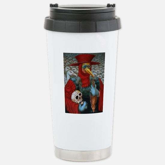 rev 18 dr plague 04 = R Stainless Steel Travel Mug