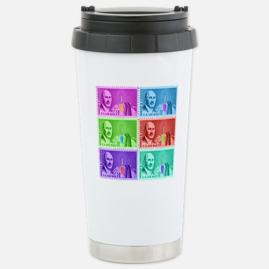 Goddard_Pop_Art Stainless Steel Travel Mug