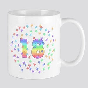 18th Birthday Pastel Stars Mug
