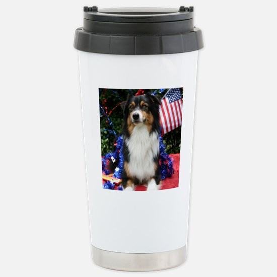 BELLEPATRIOTIC Stainless Steel Travel Mug