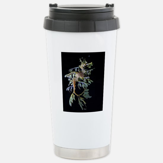 Leaf-see the shrimp Stainless Steel Travel Mug