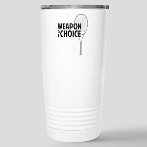 tennisWeapon2 Stainless Steel Travel Mug