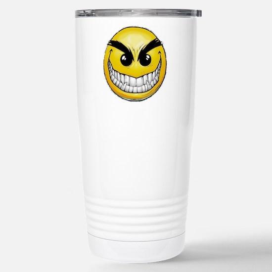smiley-face-wallpaper-0 Stainless Steel Travel Mug