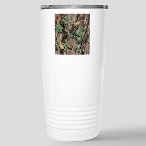 camo-swatch-hardwoods-g Stainless Steel Travel Mug