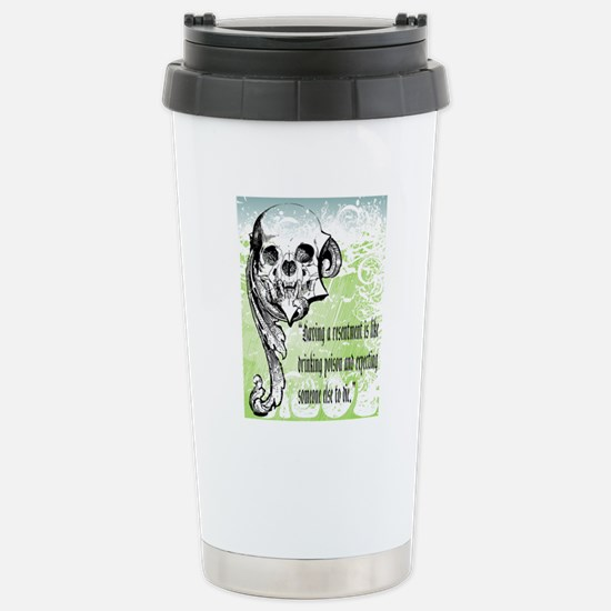 resentment Stainless Steel Travel Mug