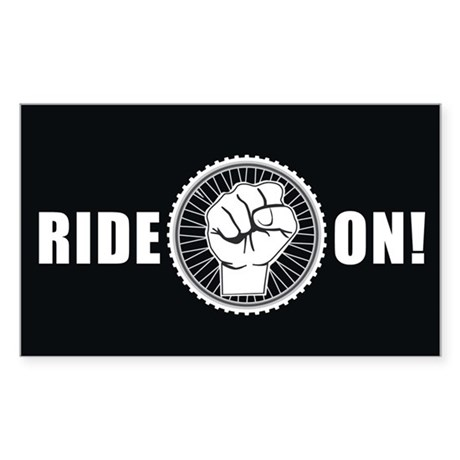 Ride On Sticker