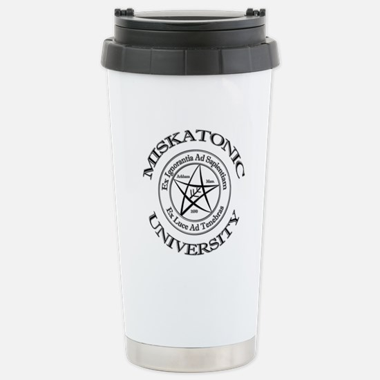 Miskatonic University Stainless Steel Travel Mug