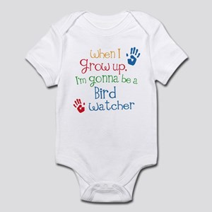 Bird Watcher Grow Up Infant Bodysuit