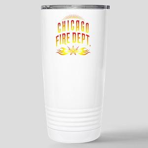 CPChicagoFire Stainless Steel Travel Mug