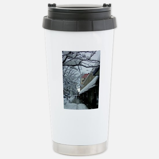 SNOW in the Heights Stainless Steel Travel Mug