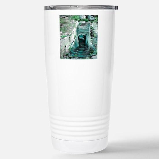 Empty Tomb by  LuAnn Bu Stainless Steel Travel Mug