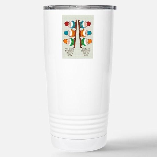 gnomesflipflopsonebyone Stainless Steel Travel Mug