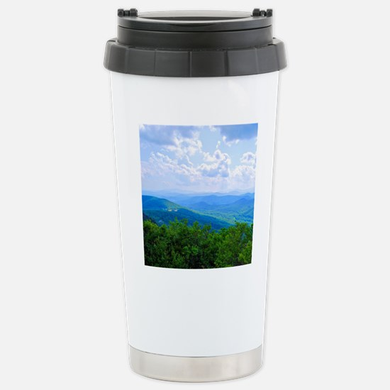 bluemnt33 Stainless Steel Travel Mug