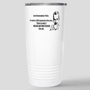 Bad Ass MF Stainless Steel Travel Mug