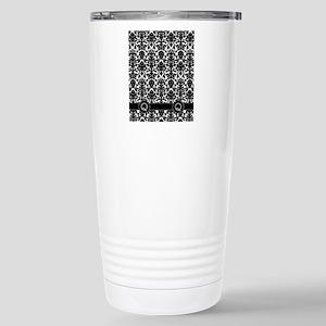 Q_flip_flops_monogram_0 Stainless Steel Travel Mug