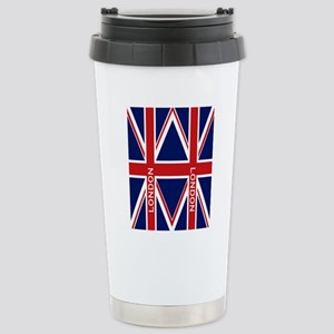 flip_flops_travel_londo Stainless Steel Travel Mug