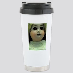 CreepyDoll Stainless Steel Travel Mug