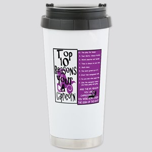 Capricorn6 Stainless Steel Travel Mug