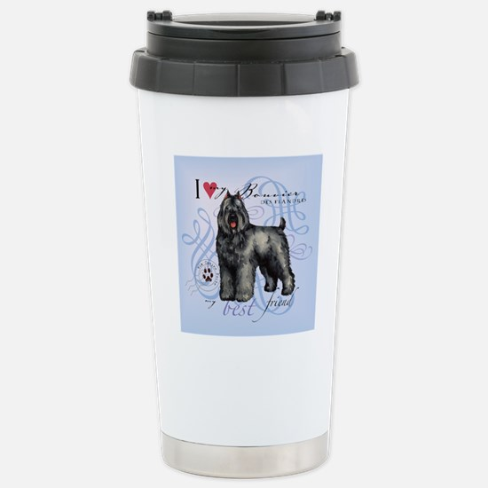 bouvier-tile Stainless Steel Travel Mug