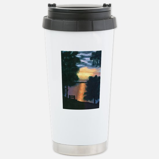 Mitiwanga sunset card Stainless Steel Travel Mug
