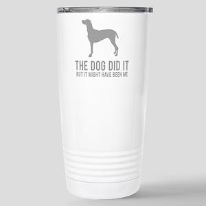 dogDitIt3 Stainless Steel Travel Mug