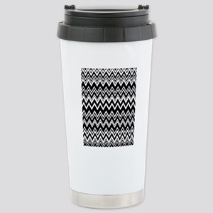 zig-zag_07 Stainless Steel Travel Mug