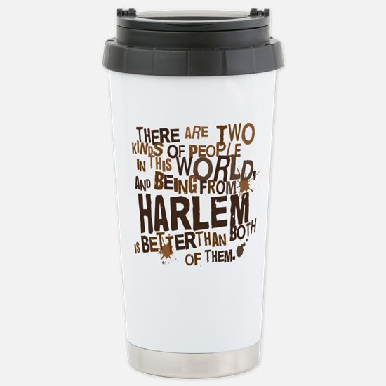 harlem_brown Stainless Steel Travel Mug