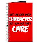 Like I Care Black-White Journal