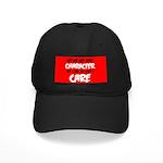Like I Care Black-White Baseball Hat