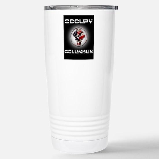 occupyColumbus Stainless Steel Travel Mug