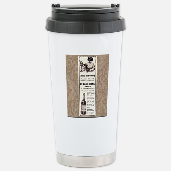 Lea and Perrins Sauce Stainless Steel Travel Mug