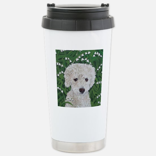 SQ DoxieDoodle Stainless Steel Travel Mug