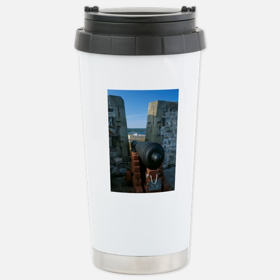Cannon at Kings Bastion Stainless Steel Travel Mug