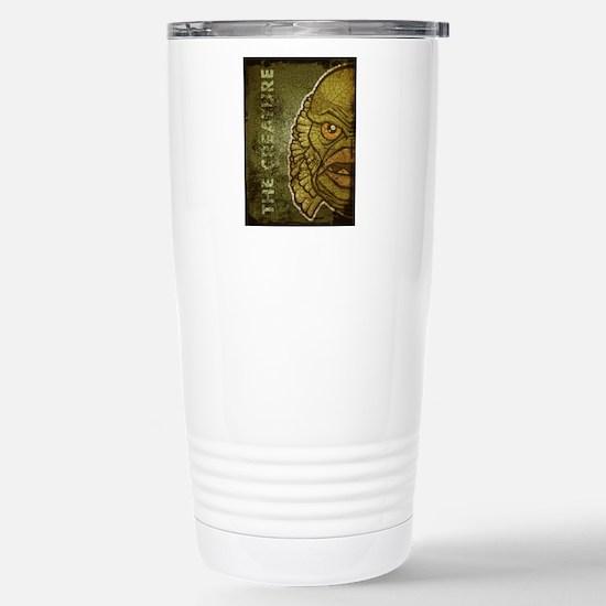 18x13-6_creature_txt_bg Stainless Steel Travel Mug