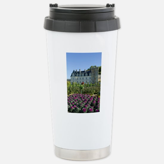 Garden at the Chateau o Stainless Steel Travel Mug