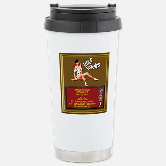 Little Patches Stainless Steel Travel Mug