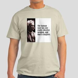 """Twain """"Laughter"""" Light T-Shirt"""