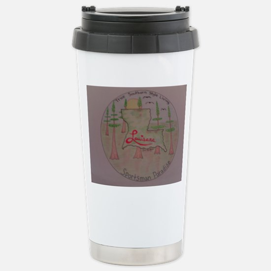 Sportsman Paradise Stainless Steel Travel Mug