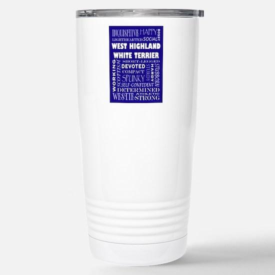WESTIE_edited-1 Stainless Steel Travel Mug
