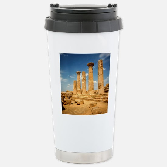 The ruins of the Temple Stainless Steel Travel Mug