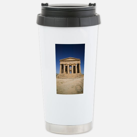 The Temple of Concordia Stainless Steel Travel Mug
