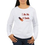 I Ate Me A Cicada Women's Long Sleeve T-Shirt