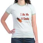 I Ate Me A Cicada Jr. Ringer T-Shirt
