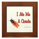 I Ate Me A Cicada Framed Tile