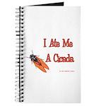 I Ate Me A Cicada Journal
