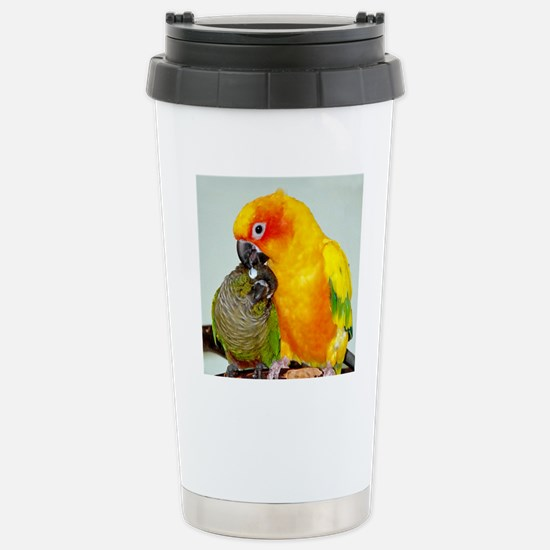 bird-ornament Stainless Steel Travel Mug