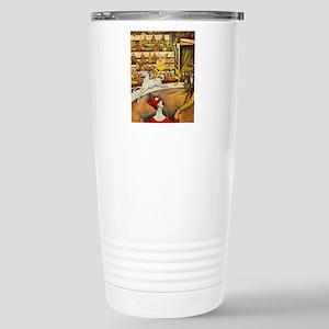 Georges_Seurat Stainless Steel Travel Mug
