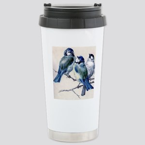 blue birds Stainless Steel Travel Mug