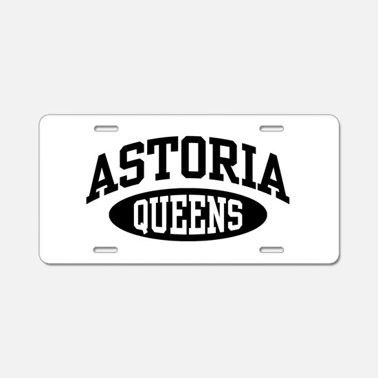 Astoria Queens Aluminum License Plate