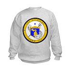 USS MICHIGAN Kids Sweatshirt